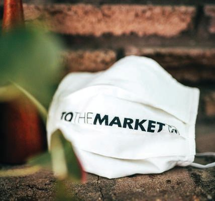 TO THE MARKET took action during last year's PPE shortage PHOTO COURTESY OF TO THE MARKET
